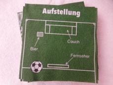 Fussball Servietten